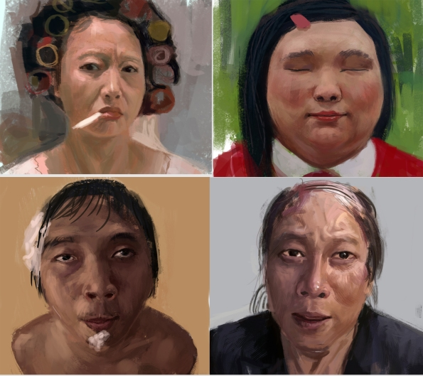The Characters from Stephen Chow films